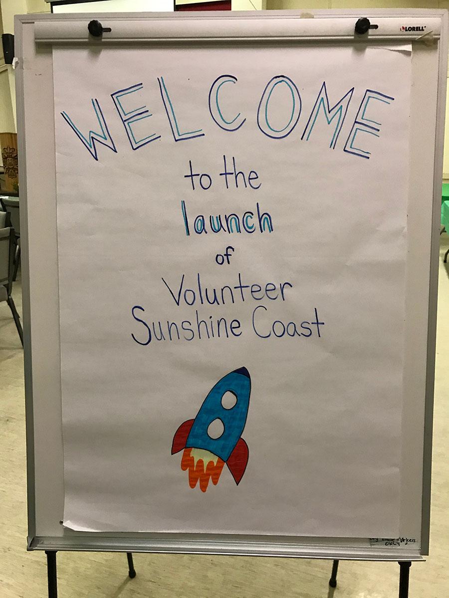 launch of volunteer sunshine coast